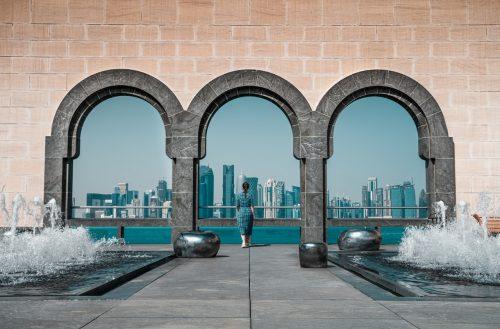 Photo de Doha au Qatar